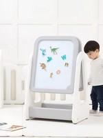 iFam iFam-EASY DOING KIDS MAGNETIC EASEL (GRAY/DOUBLE)