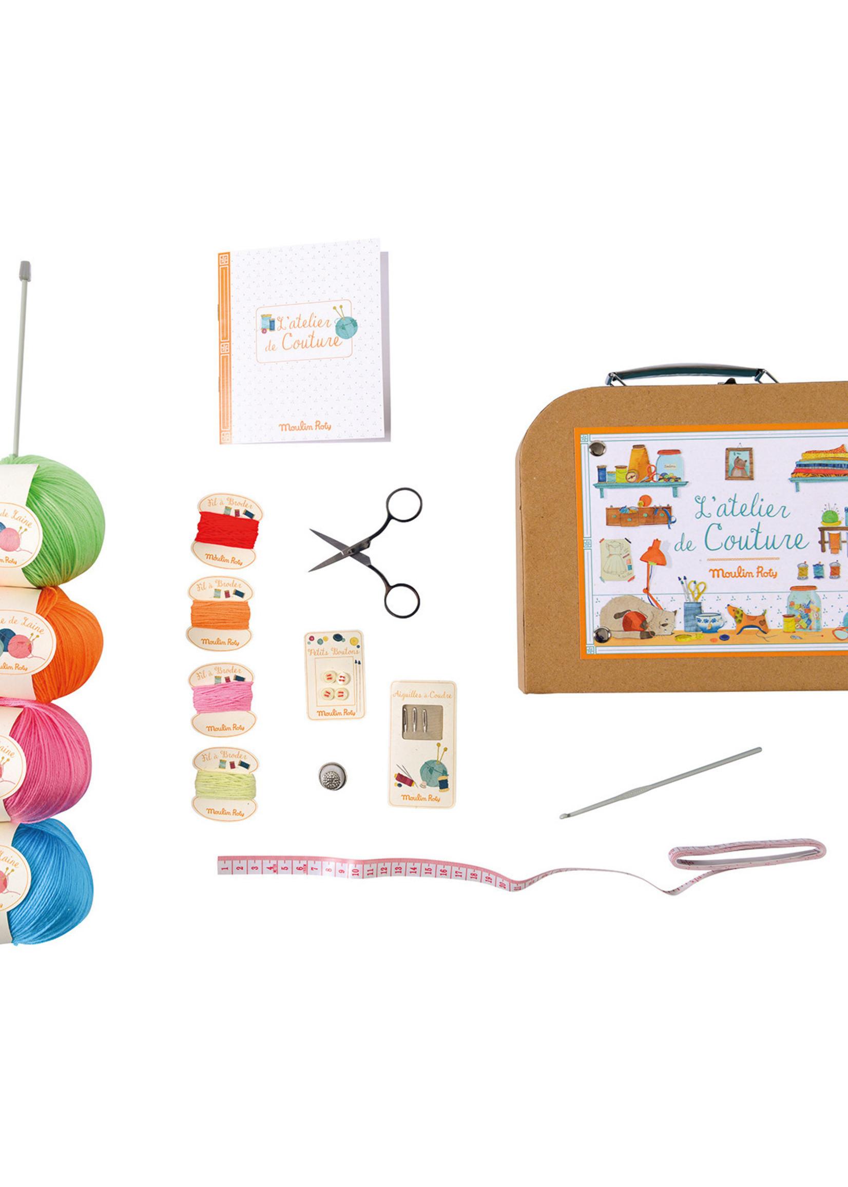 Mideer Mideer-ss21 L'atelier de Couture / Sewing Kit in Case   Code: 710404