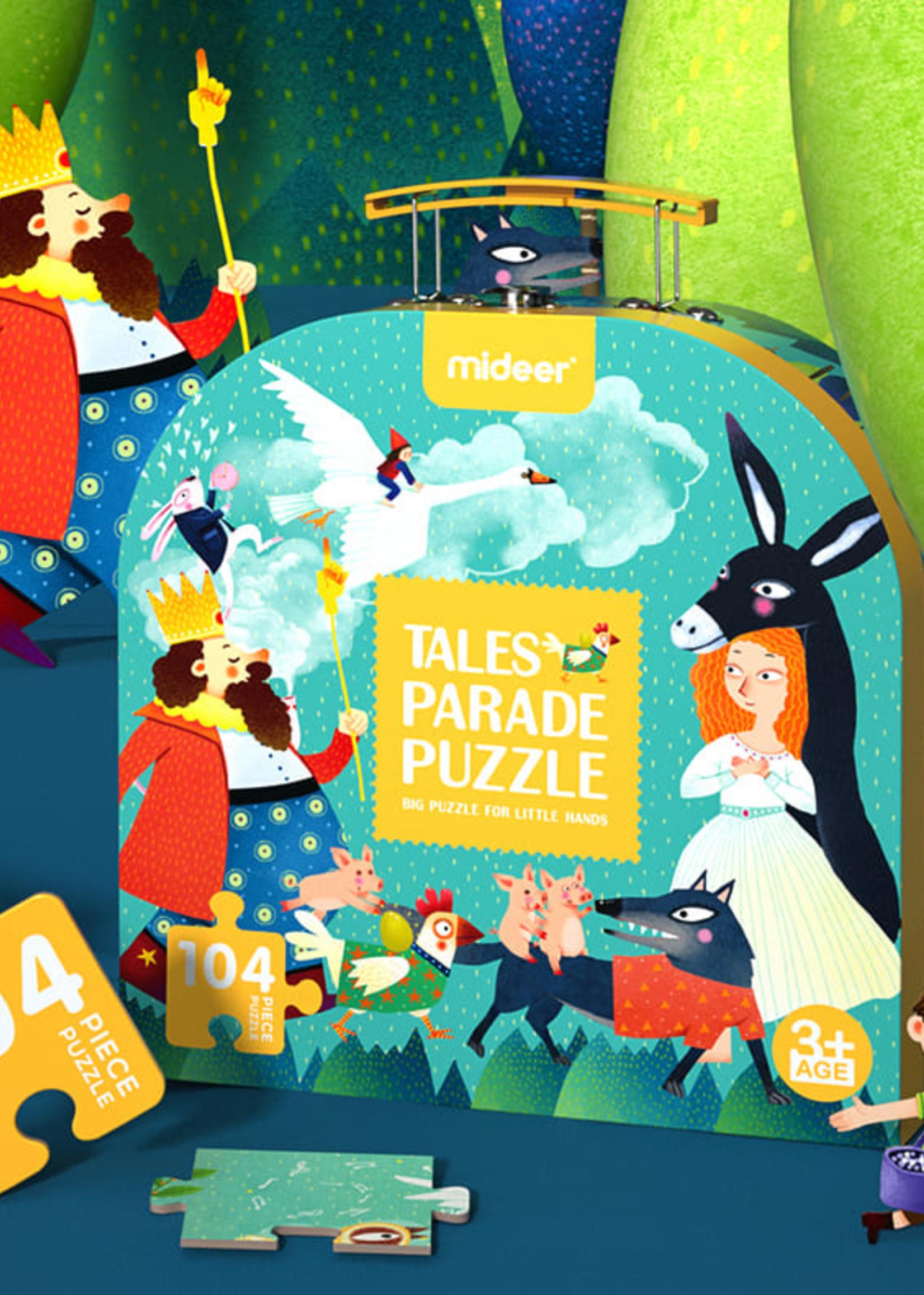 Mideer Mideer-AW20 MD3098 Luggage Puzzle - Tales Prade 104 pcs