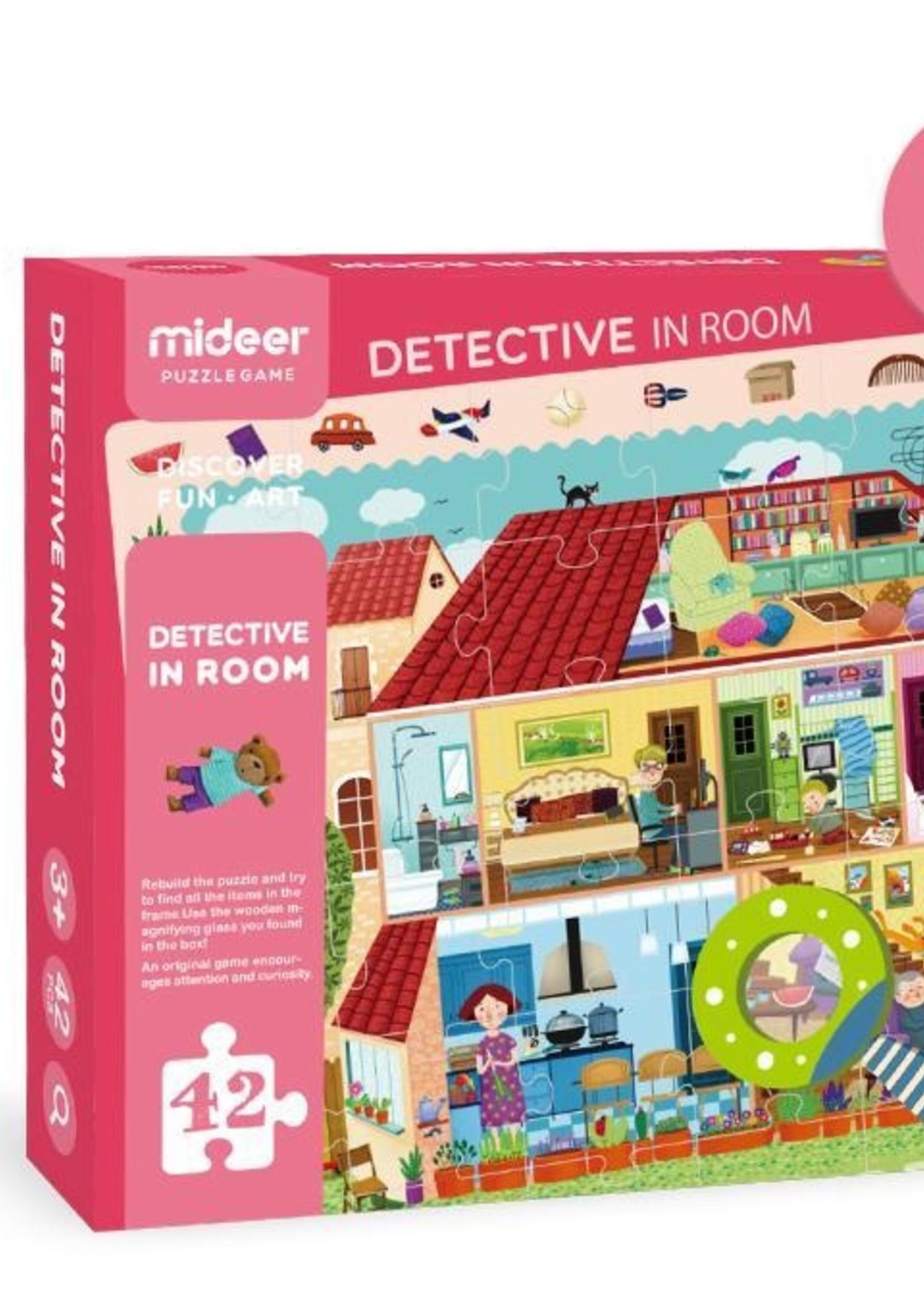 Mideer Mideer-AW20 MD3008 Detective in Room Puzzle 42 pcs31.26