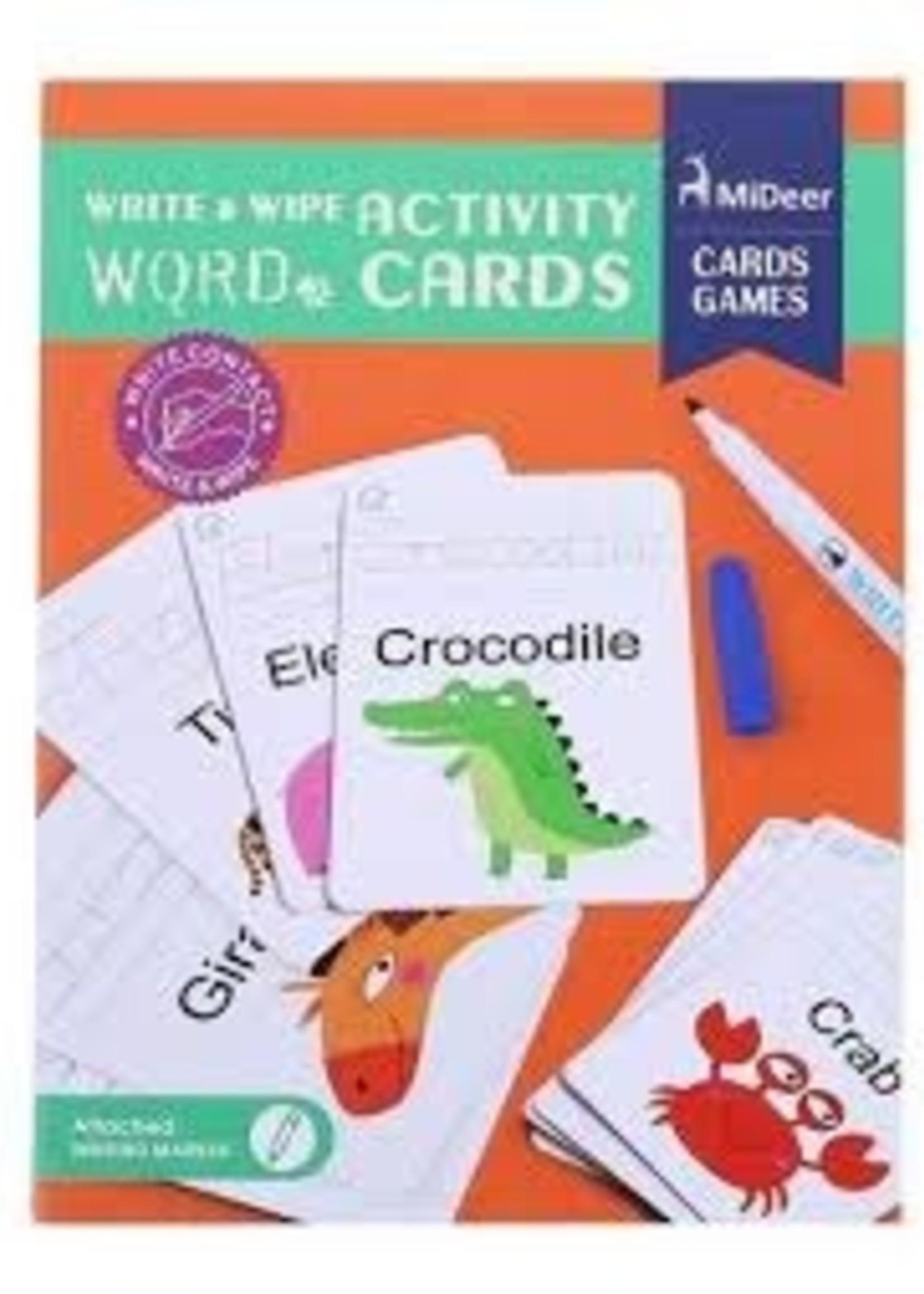 Mideer Mideer-AW20 MD1033 Write & Wipe Activity - Word Cards