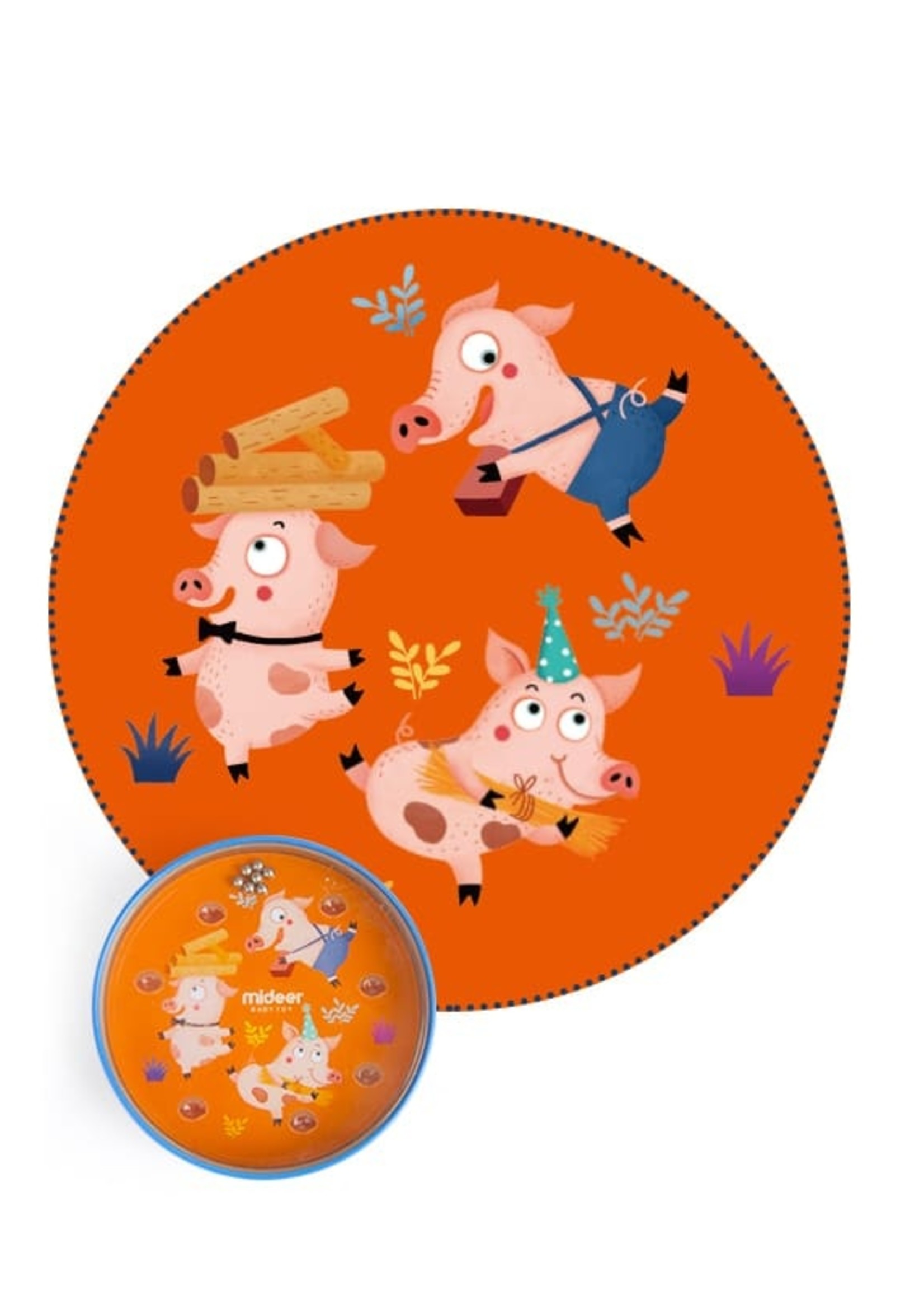Mideer Mideer-AW20 MD6017 Beads Game - The Three Little Pigs