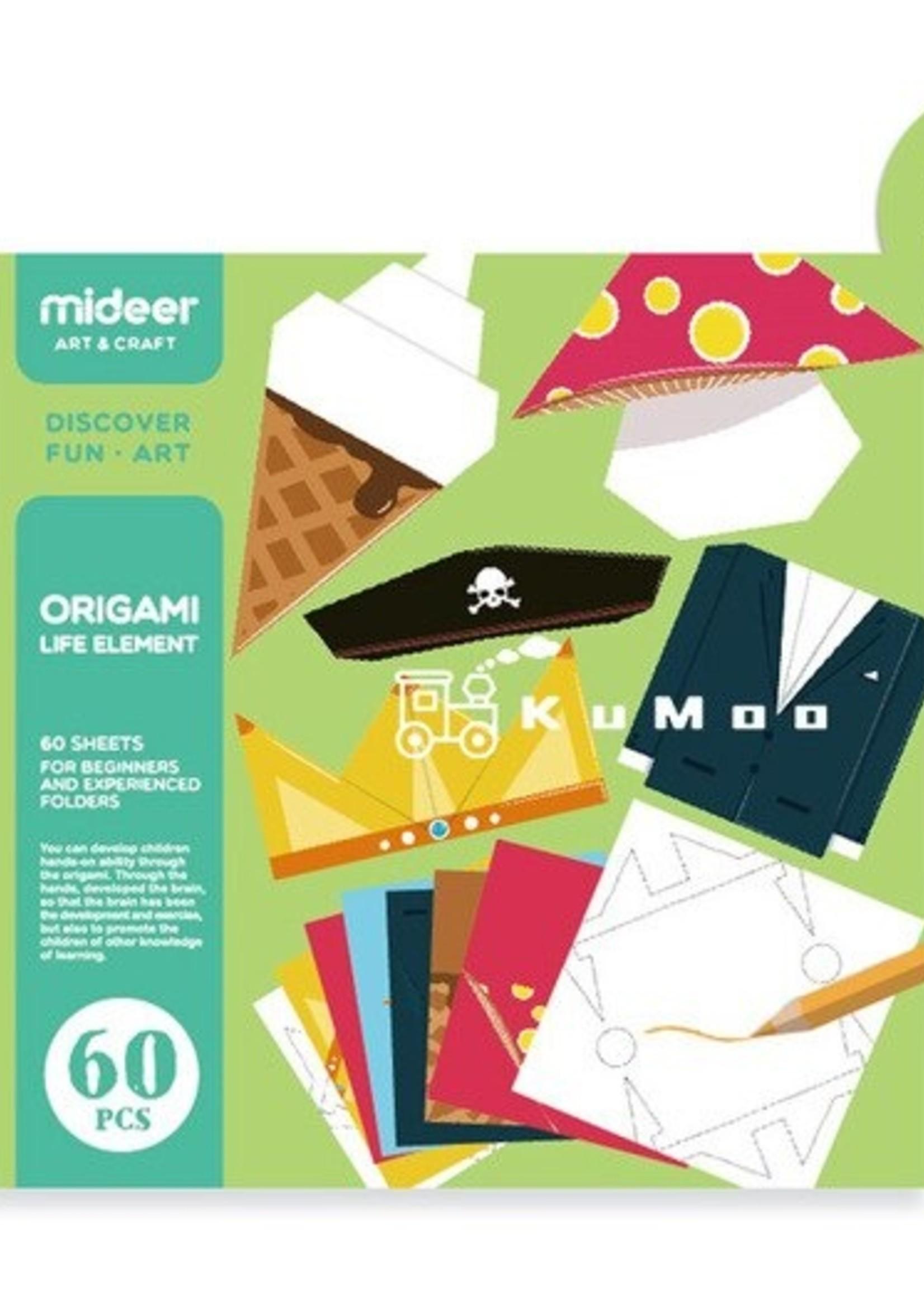 Mideer Mideer-AW20 MD4014 Origami - Life Element 60 pcs