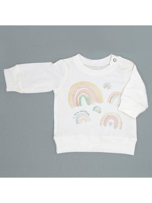 Milktology Milktology-ss21 I Love Rainbows Sweatshirt