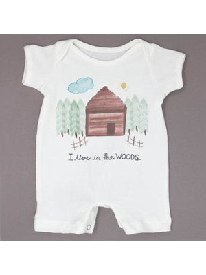 Milktology Milktoligy-ss21 I Live In The Woods Romper