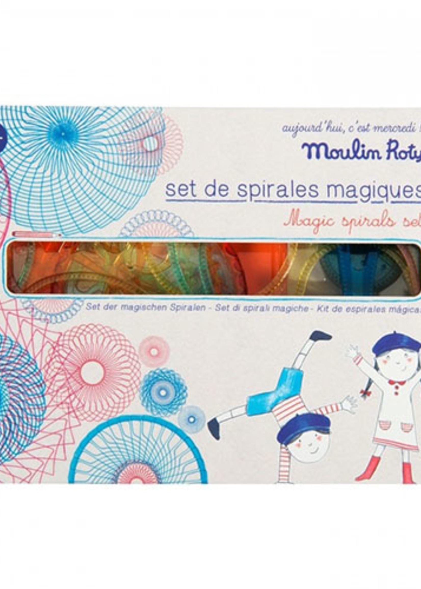 Moulin Roty Mideer-ss21 Aujourd hui cest mercredi - magic spirals set   Code: 713153