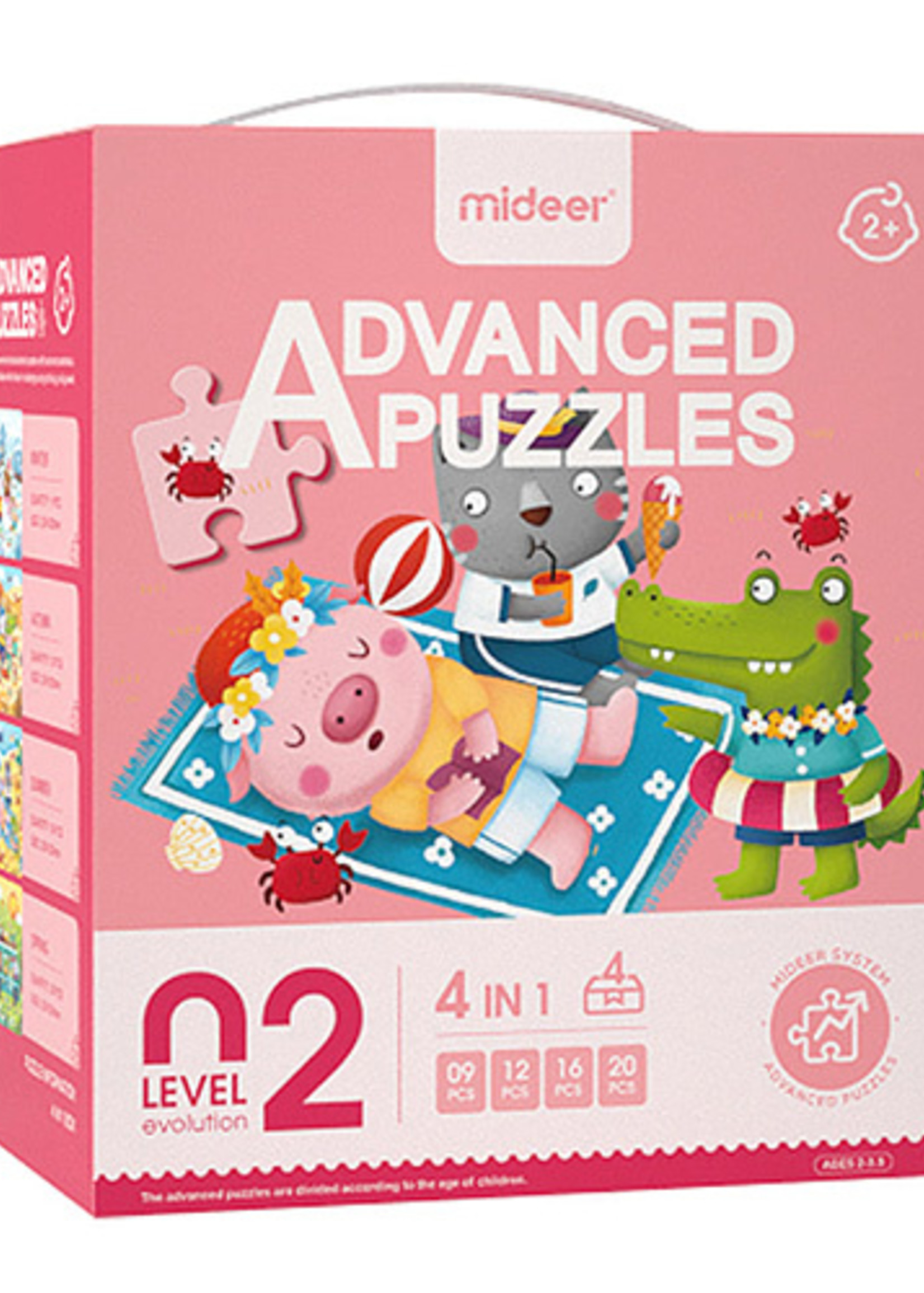 Mideer-ss21 MD3102 ADVANCED PUZZLE 02