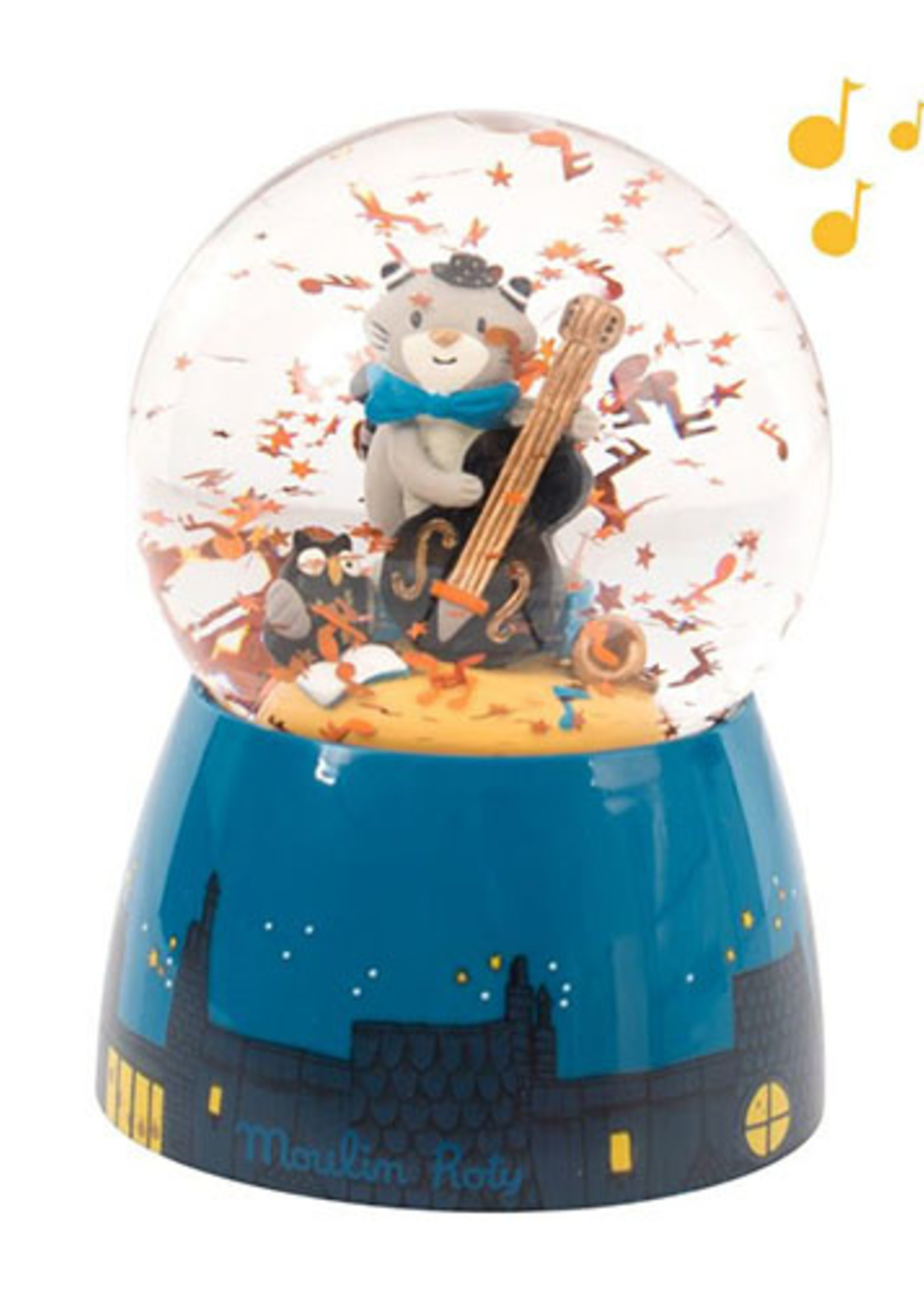 Mideer Moustaches - Musical Snow Globe    Code: 666241