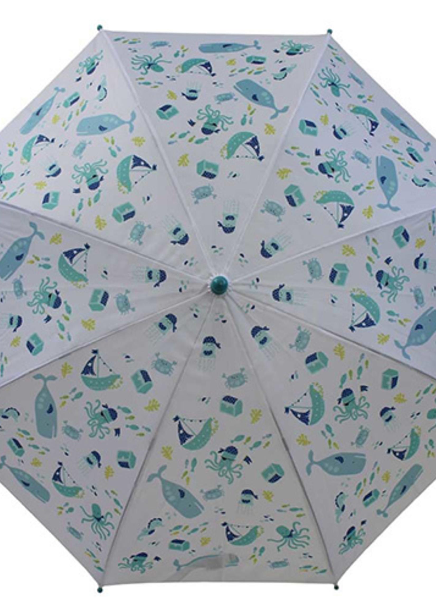 Powell Craft Powell Craft-ss21 Deep Sea Print Umbrella