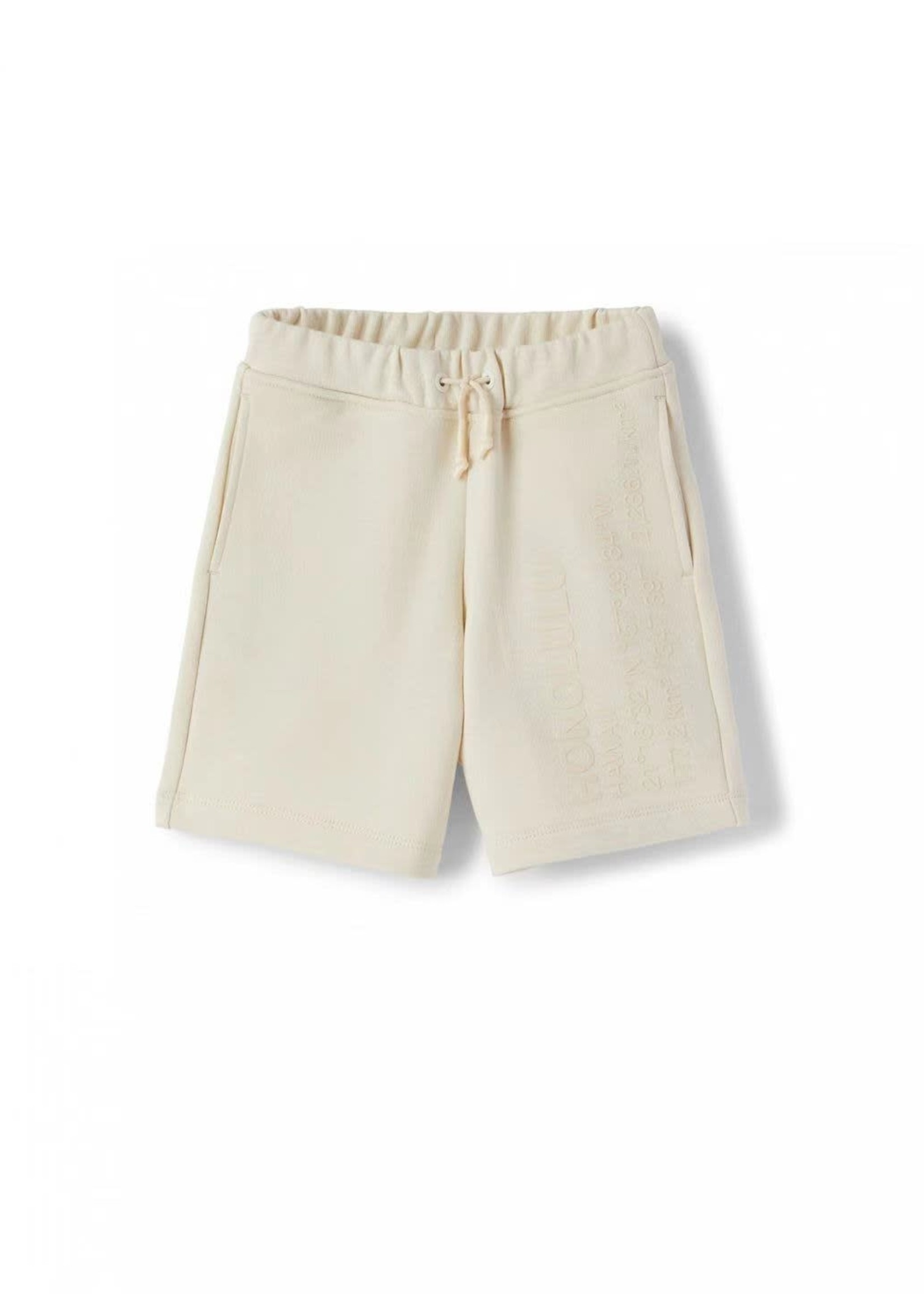 Il Gufo Il Gufo-ss21 TEEN drawstring-waist track shorts