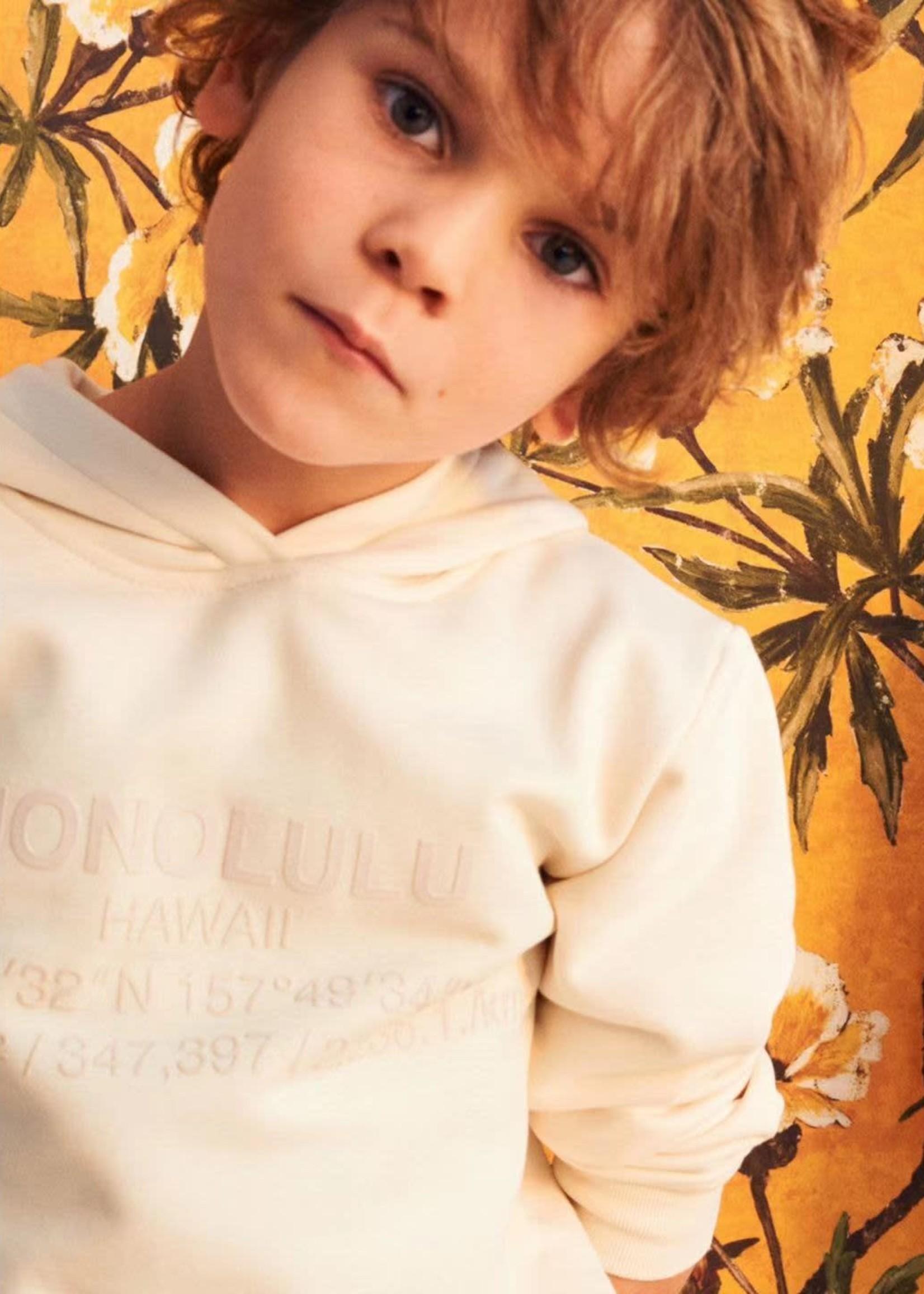 Il Gufo Il Gufo-ss21  graphic-print cotton hoodie