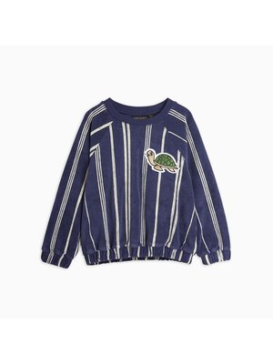 Mini Rodini Mini Rodini-SS21 2162013567 Turtle terry sweatshirt