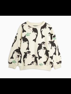 Mini Rodini Mini Rodini-SS21 2162013411 Orca aop sweatshirt