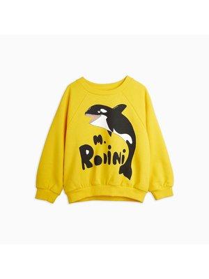 Mini Rodini Mini Rodini-SS21 2162013123 Orca sp sweatshirt