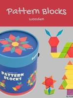Mideer Mideer-SS21 MD1002 Pattern Blocks 250 pcs