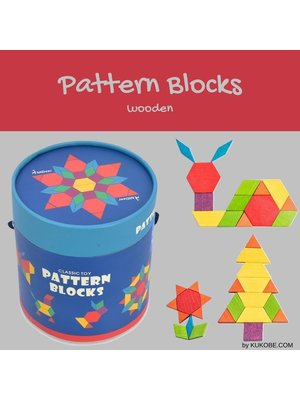 Mideer Mideer-SS21 MD1002 Pattern Blocks 250 pcs