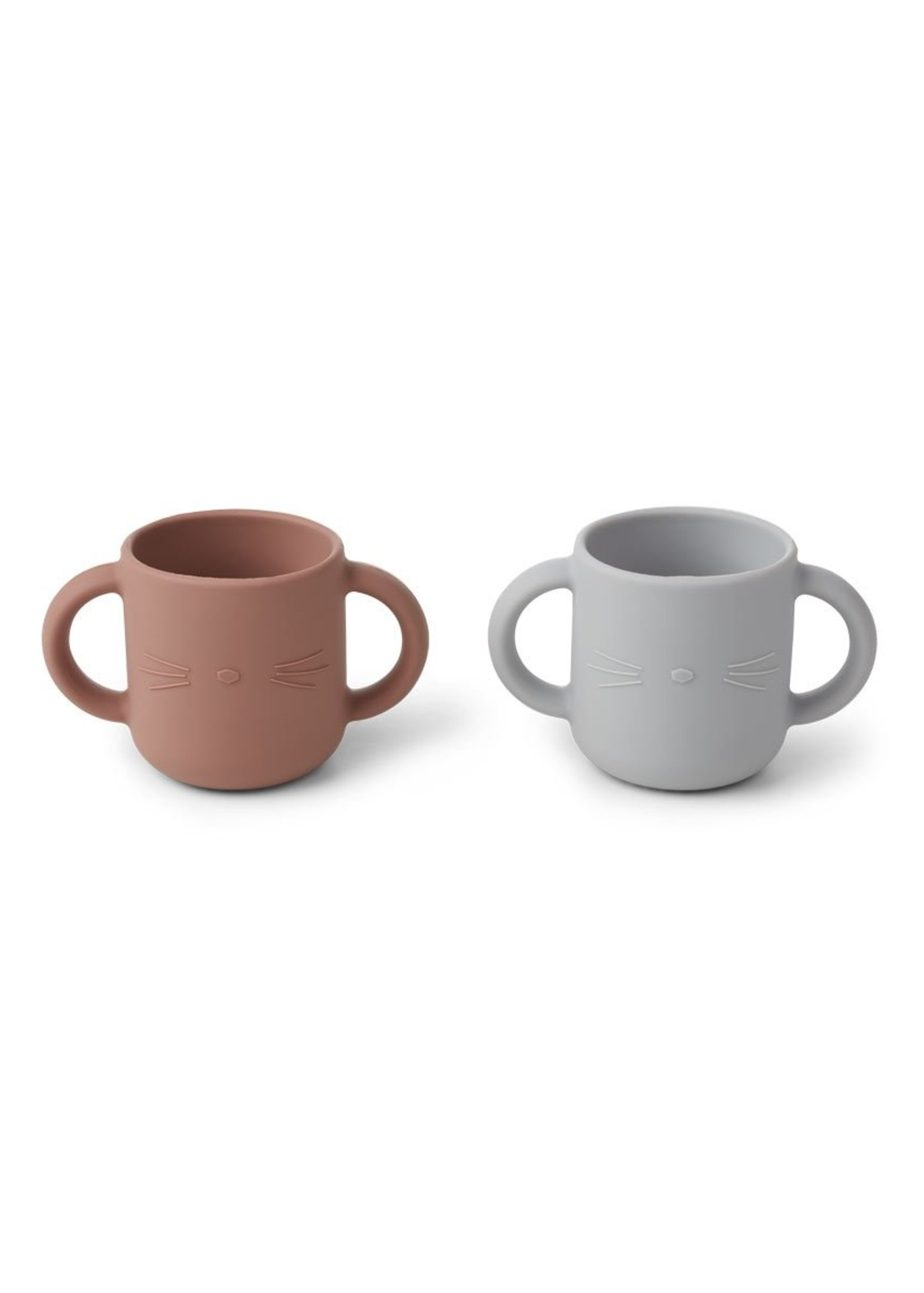liewood Liewood-SS21 LW14155 Gene silicone cup - 2 pack