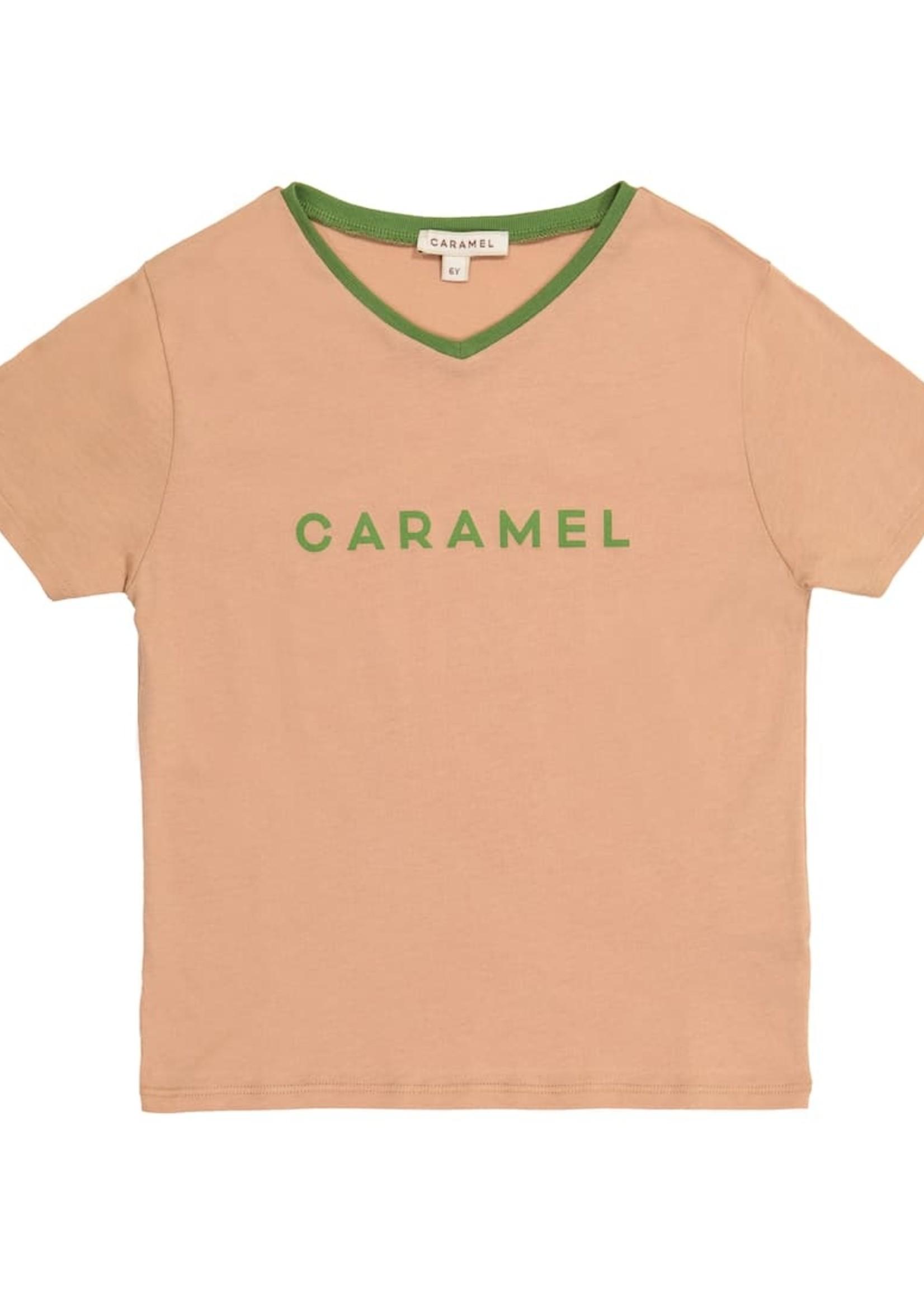 Caramel Caramel-ss21 SHARK T-SHIRT
