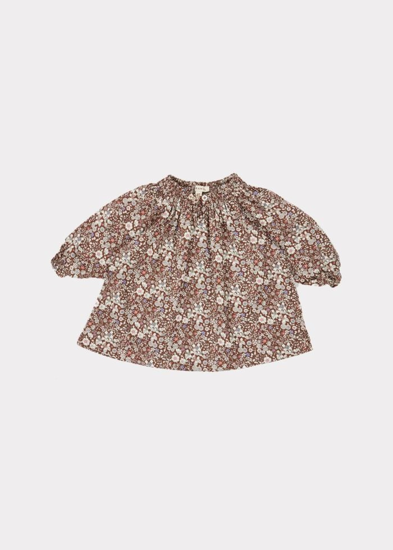 Caramel Caramel-ss21 AROWANA baby DRESS S21DF Brown 24m