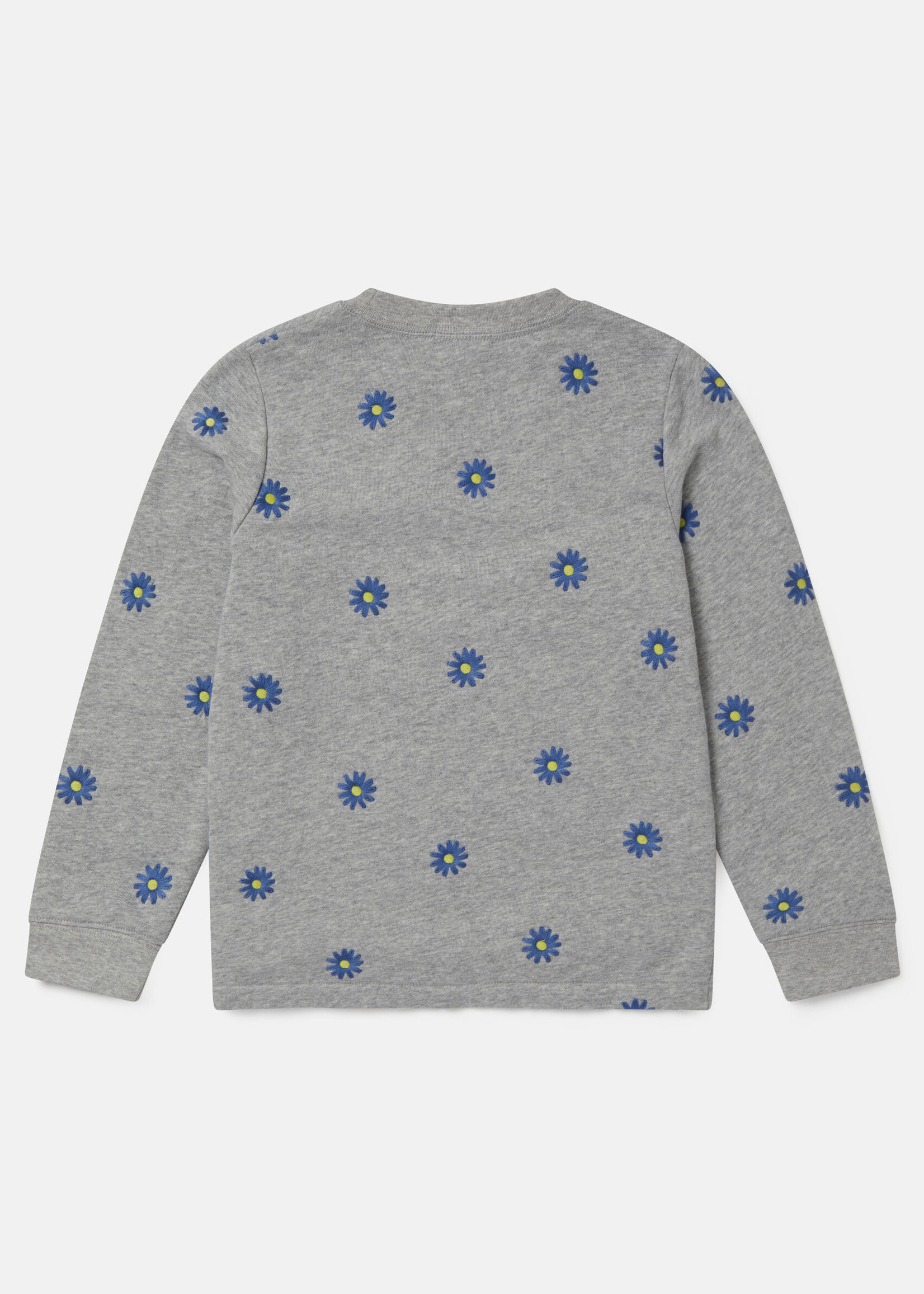 Stella McCartney Stella Mccartney-SS21 602643 Embroidered Daisies Fleece Sweatshirt