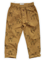 Sproet & Sprout Sproet & Sprout-ss21 S21-777 Woven Pants Camel Print