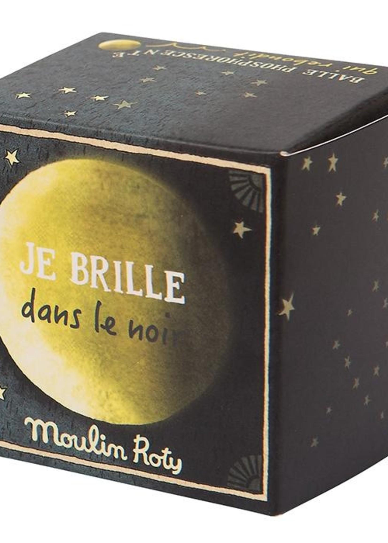 Petites Merveilles - glow in the dark bouncy ball (CASELOT 12) - Moulin Roty