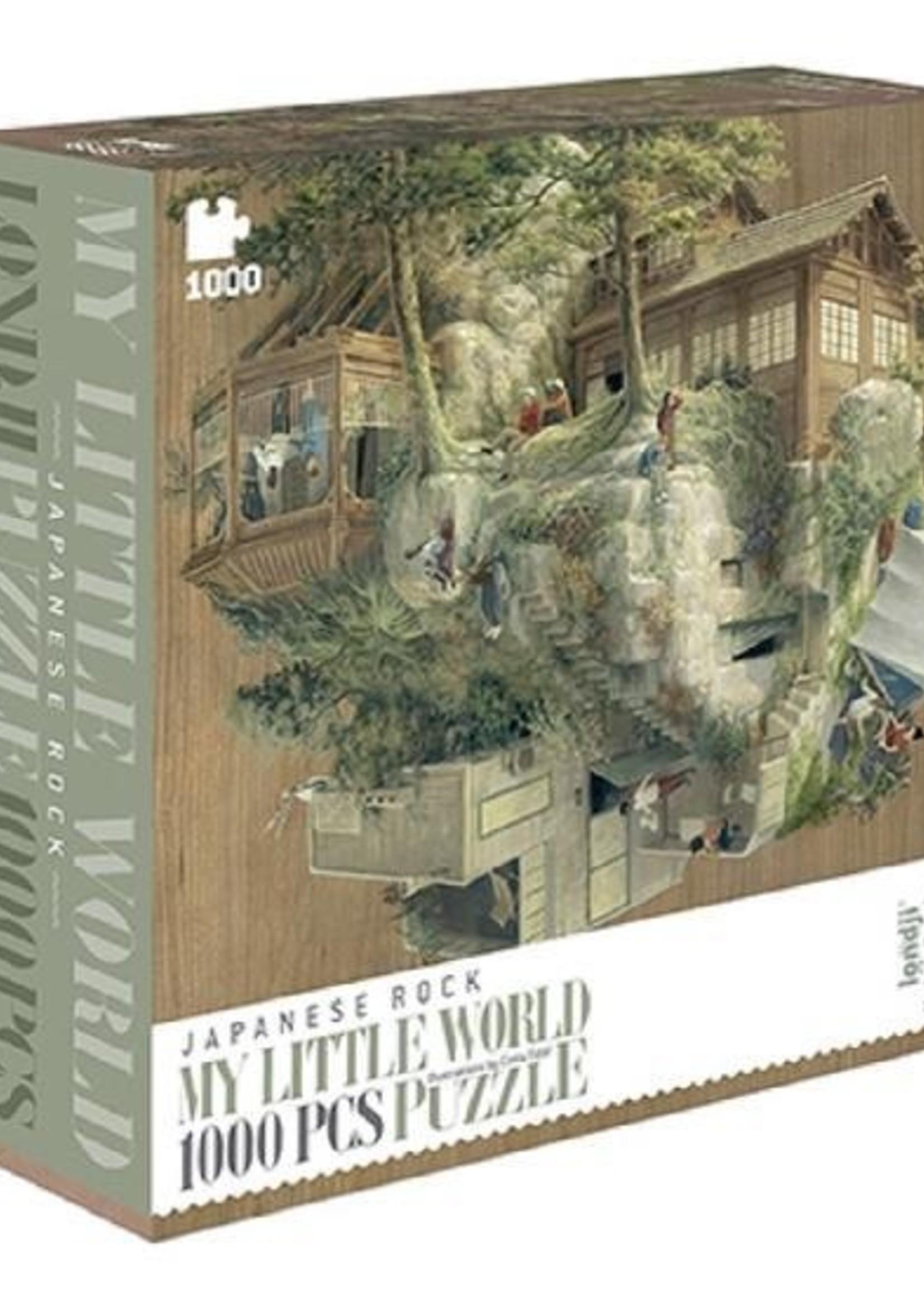 Puzzle - My Little World Japanese Rock (CASELOT 3) - Londji