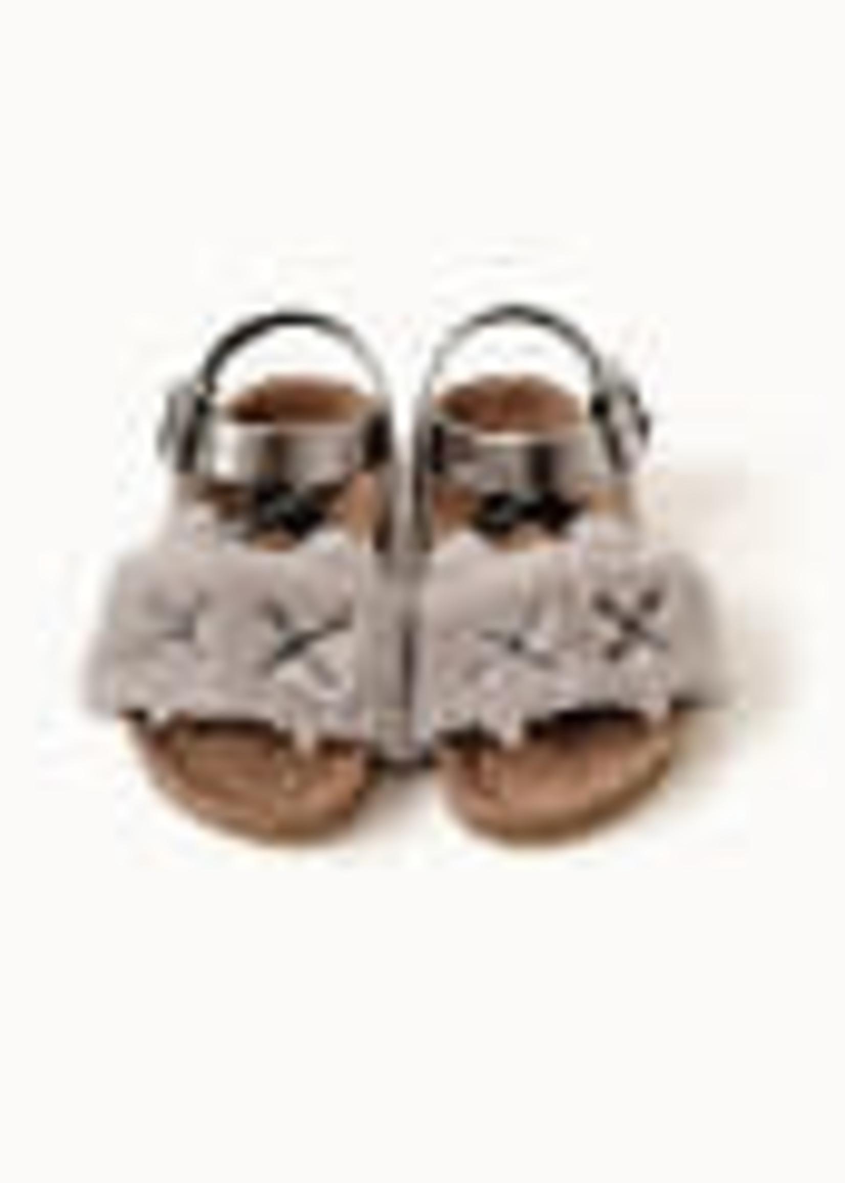 """Boxbo Boxbo-ss21 Canine"""" Gray Kitten Cork Sandals Référence : SD2007"""