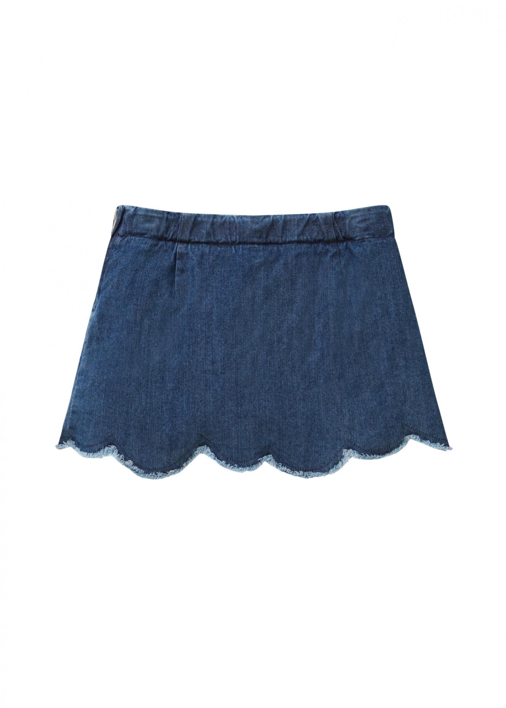 Il Gufo ilGufo Girl denim skirt