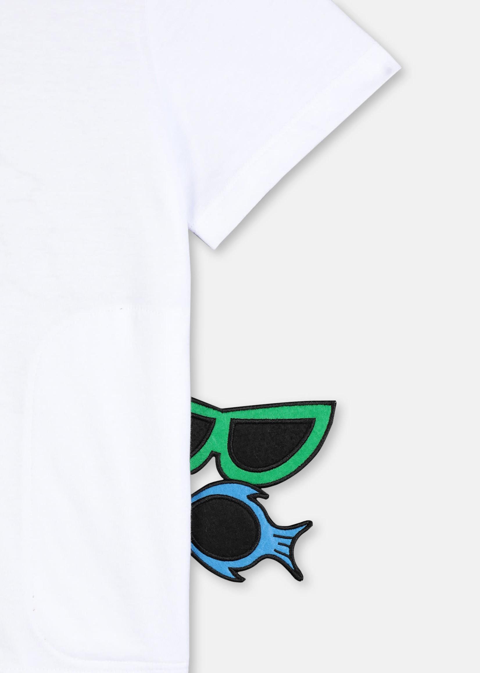 Stella McCartney Cotton T-Shirt with Badges