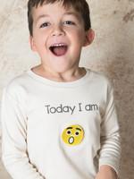 Pamboo Pamboo-ss21 Today I am  T-shirt Long