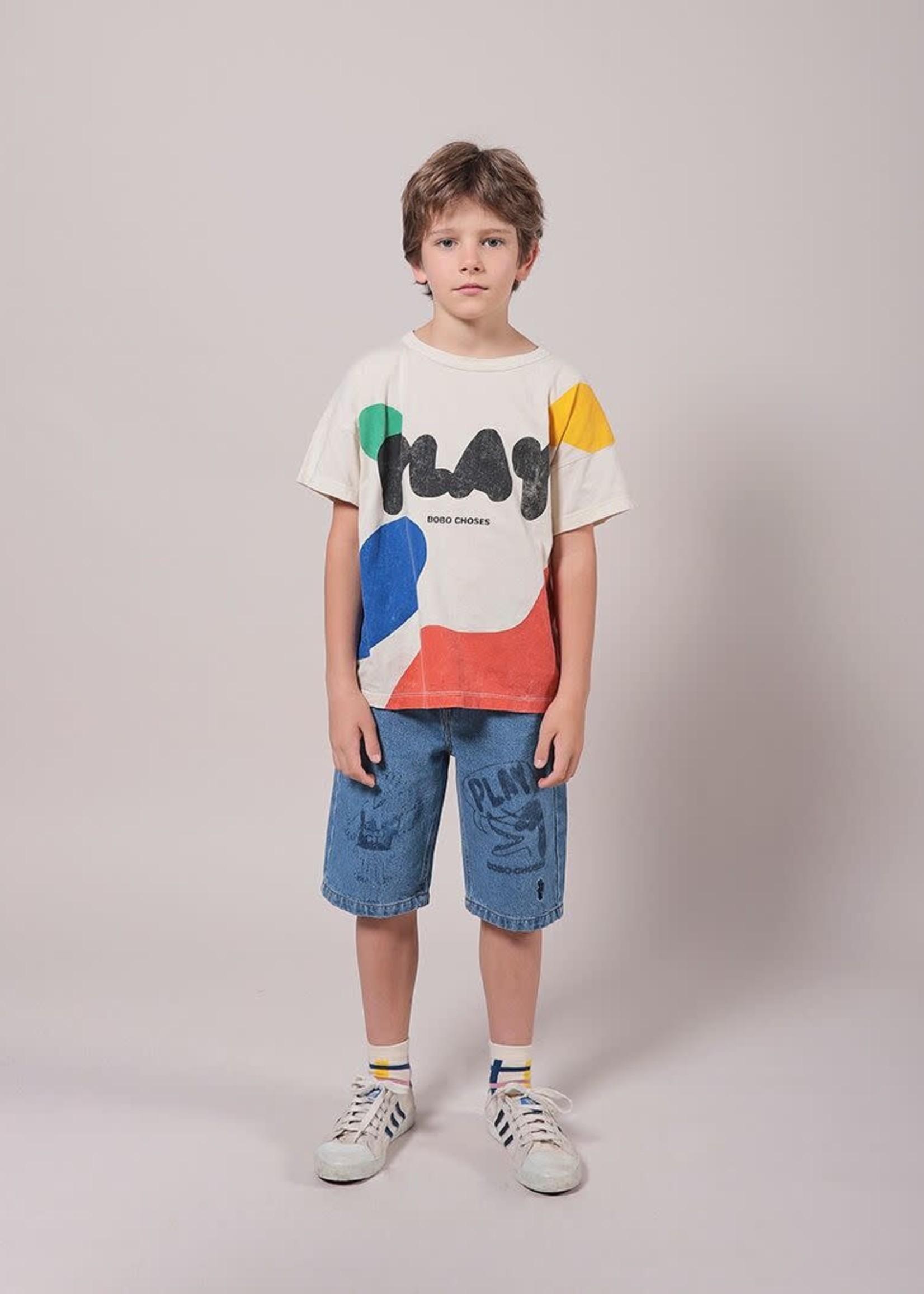 bobochoses BoboChoses -ss21 Play Landscape Short Sleeve T-Shirt