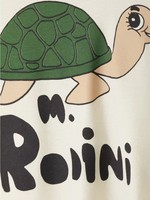 Mini Rodini Mini Rodini-SS21 TURTLE T-SHIRT • 100 % Organic Cotton • GOTS-certified