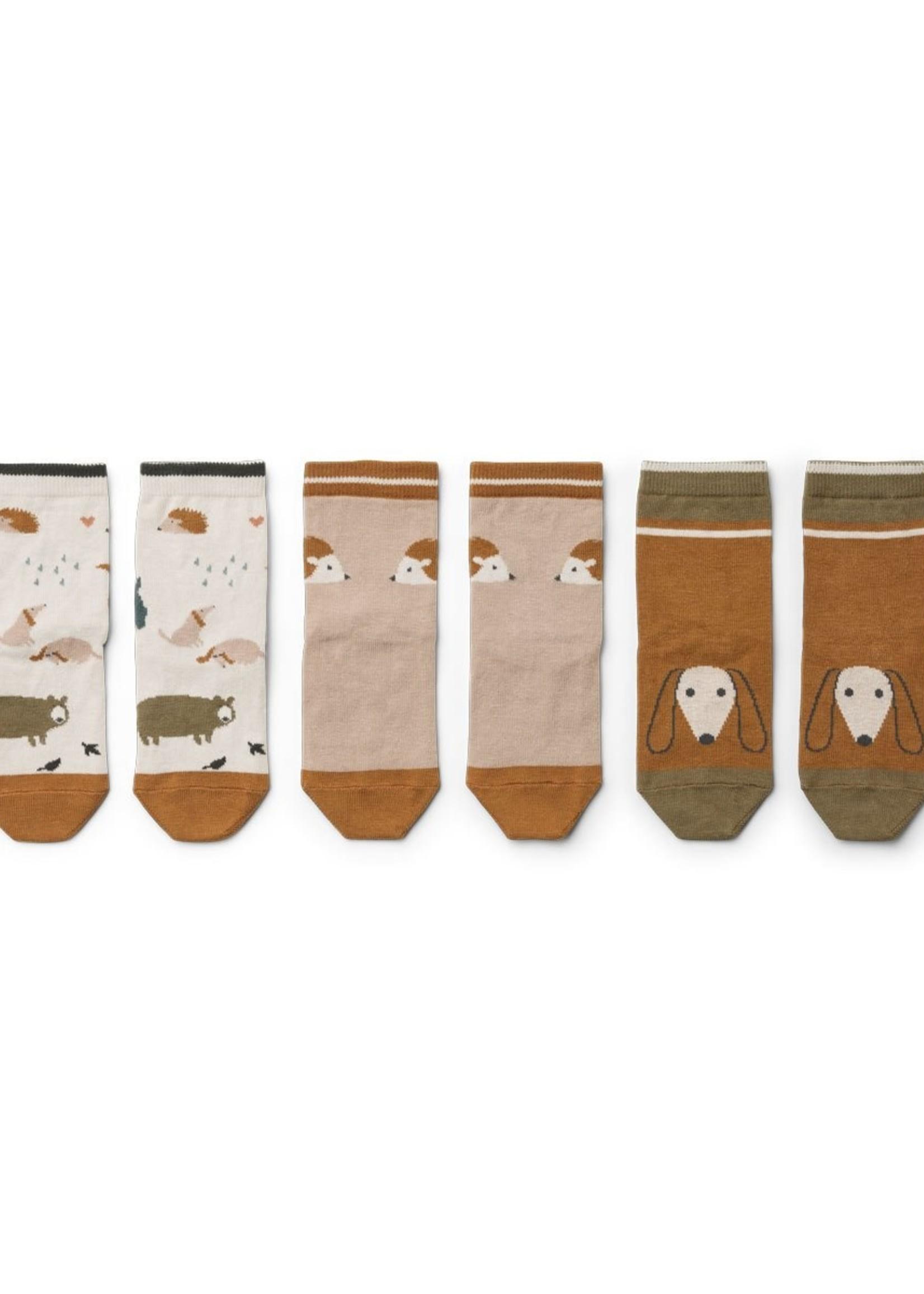 liewood Liewood-AW21 LW13070 Silas cotton socks