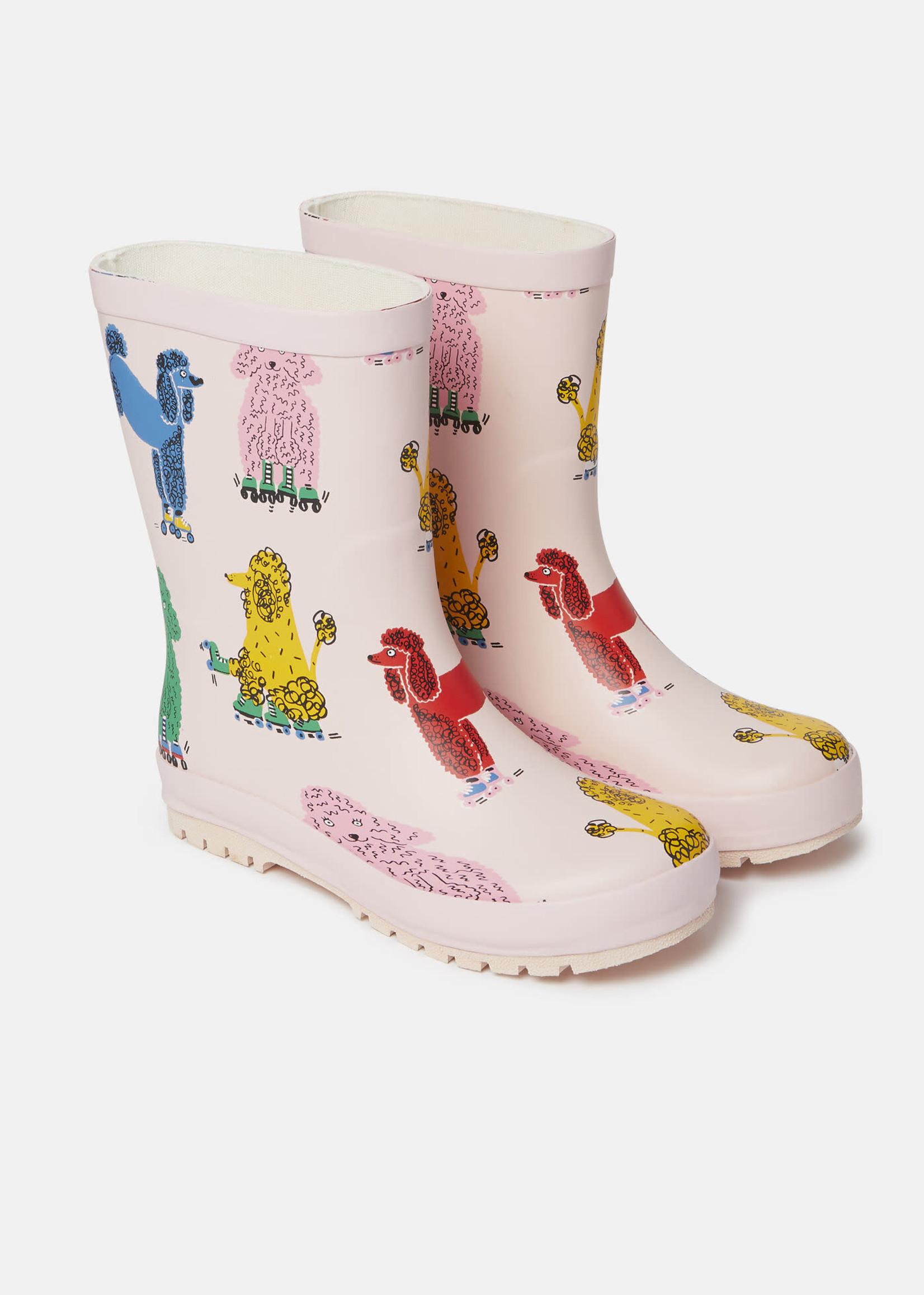 Stella McCartney Stella Mccartney-AW21 603400 Doodle Poodles Waterproof Rainboots