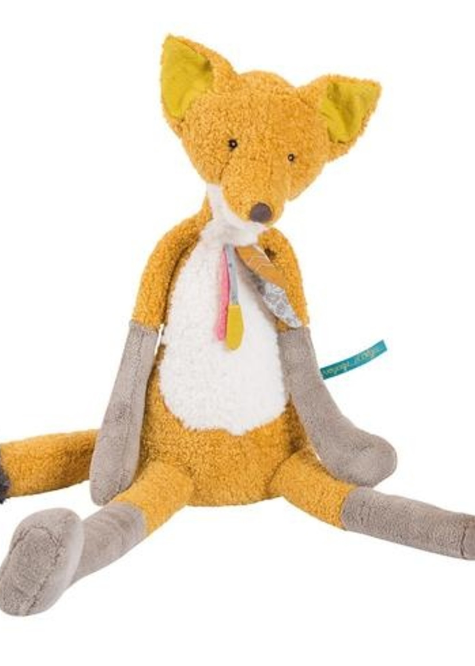 Voyage D'Olga - Chaussette fox activity toy 35cm (CASELOT 3) - Moulin Roty