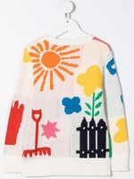 Stella McCartney Stella Mccartney-AW21 603444 intarsia motif knitted jumper