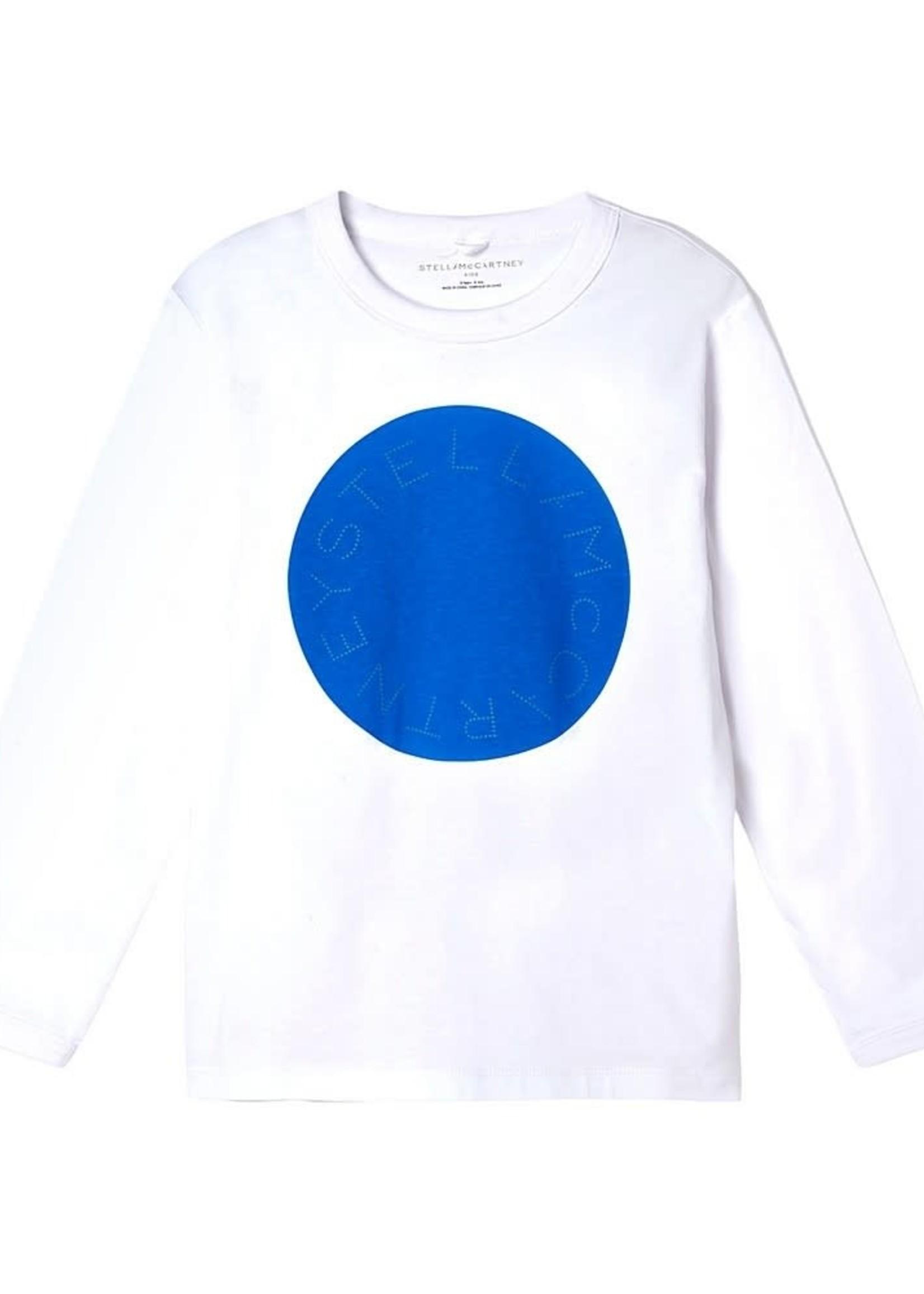 Stella McCartney Stella Mccartney-AW21 Kid Boy Ls Circle Logo Tee   603086 SRJ81