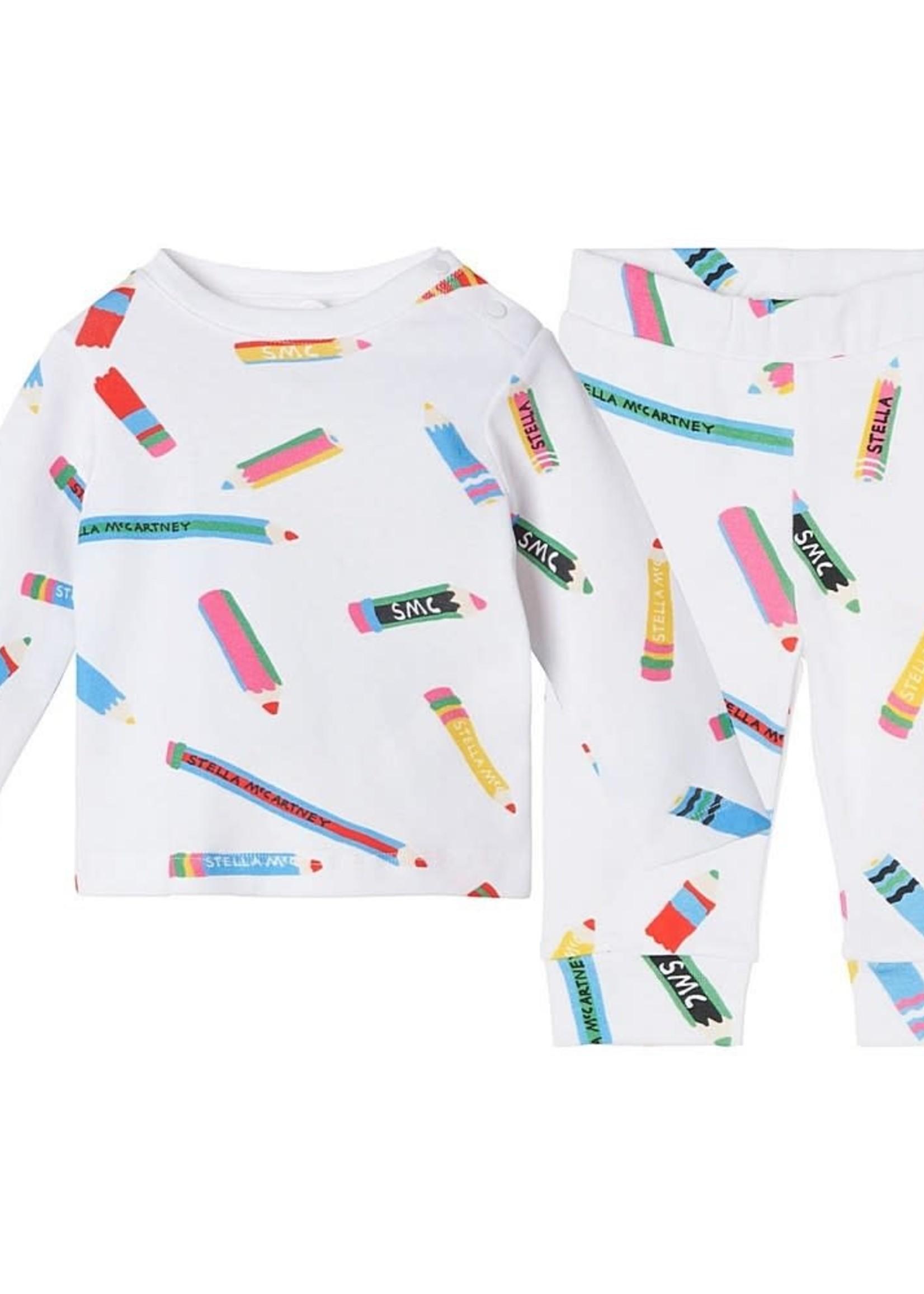 Stella McCartney Stella-AW21 Baby Unisex 2pc Pencils Set   603558 SRJA9