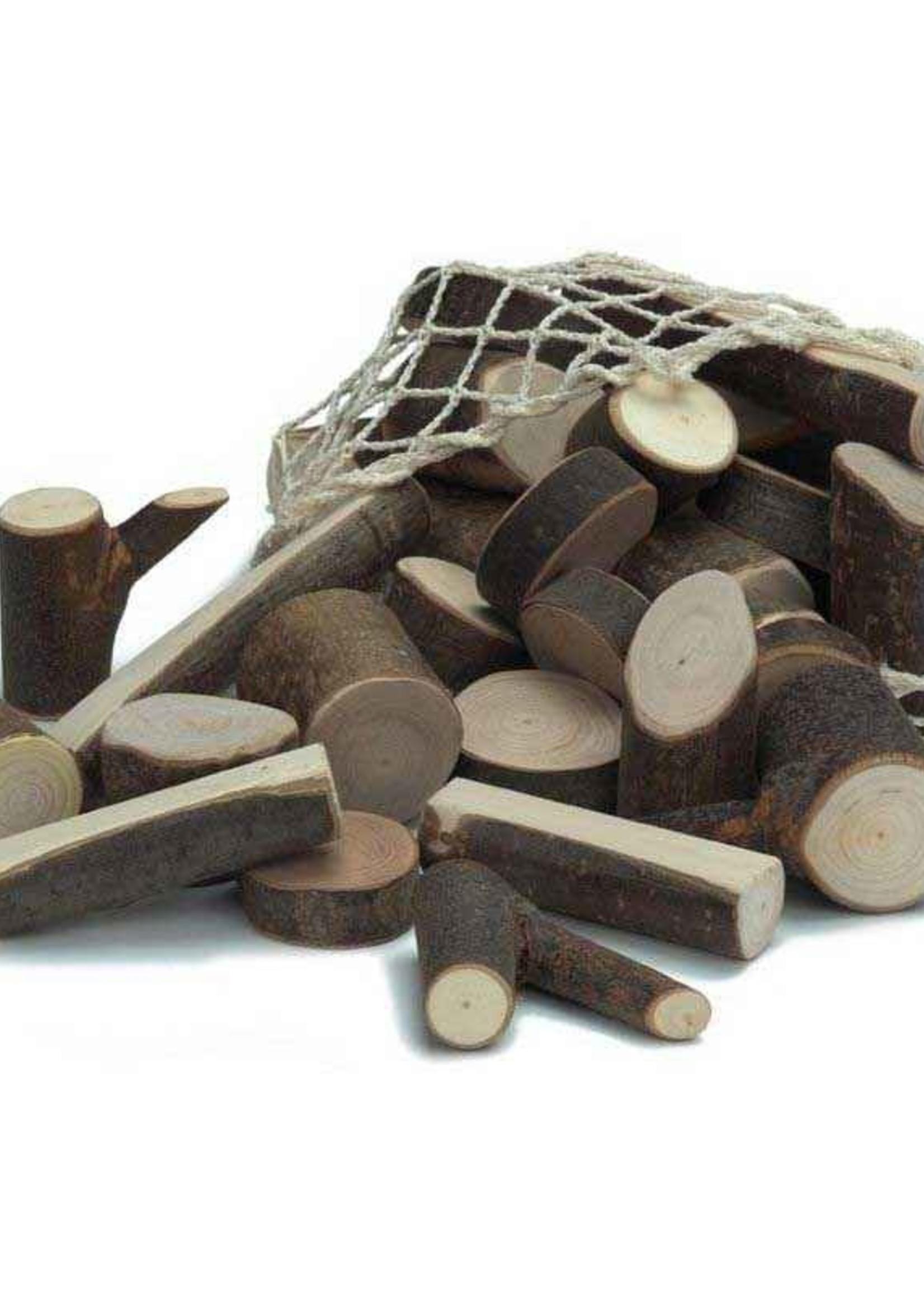 Mideer Branch Wood Blocks in Net   Code: 523398
