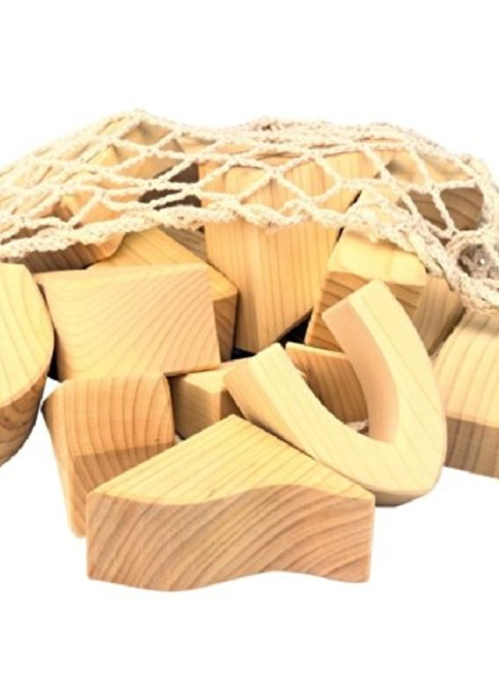 Mideer Blocks, Large Natural   Code: 523283