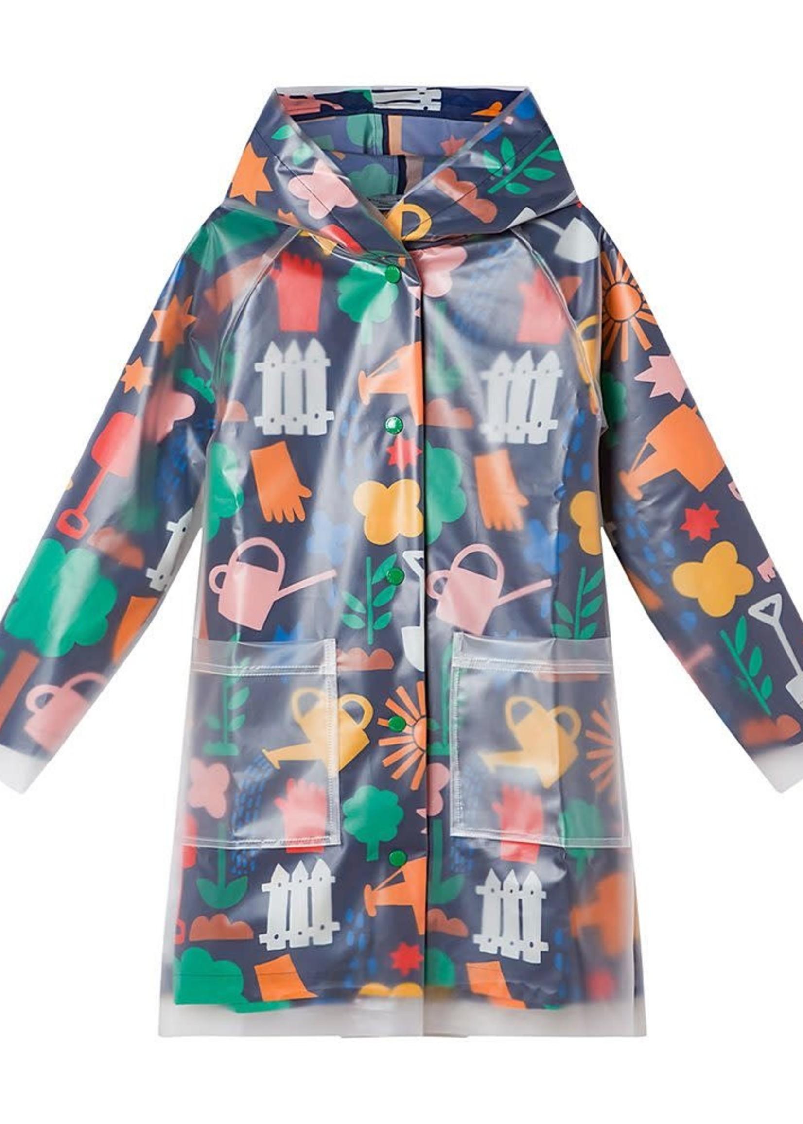 Stella McCartney Stella McCartney-AW21 603309 SRK37 KID GIRL GARDENING RAIN COAT