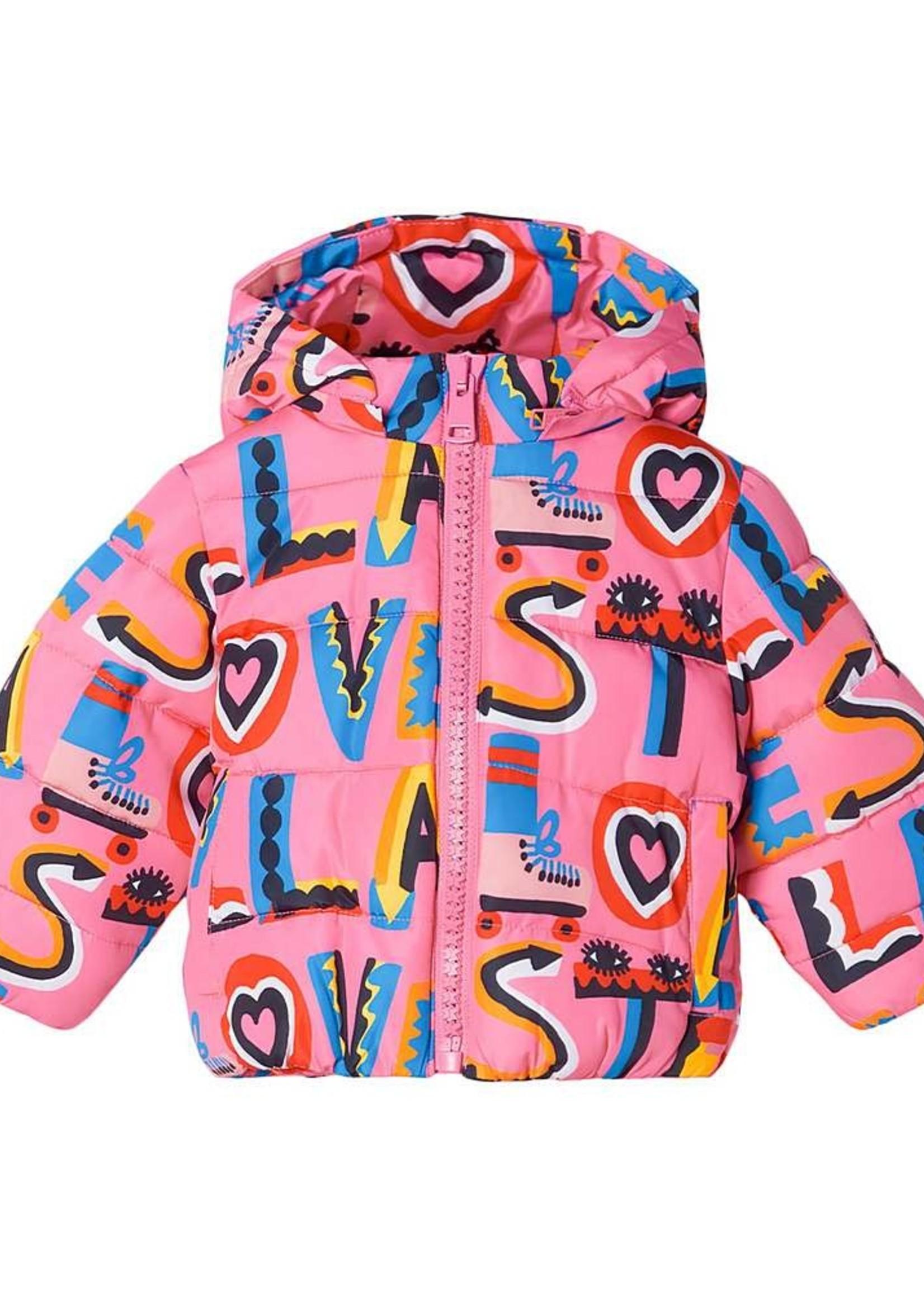 Stella McCartney Stella McCartney-AW21 603362 SRK40 BABY GIRL STELLA LOVES PUFFER