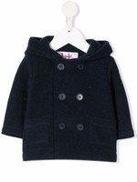 Il Gufo IL GUFO-AW21 GM365 double-breasted hooded coat