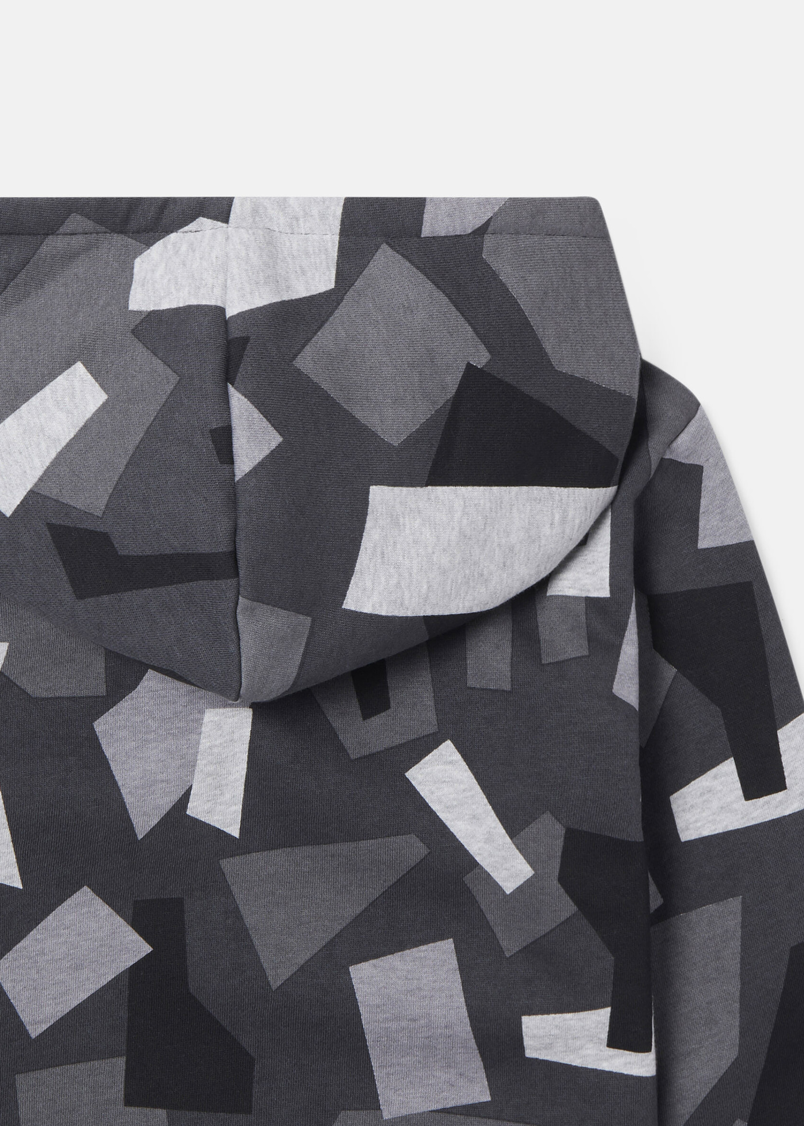 Stella McCartney Stella McCartney-AW21 603269 geometric camouflage hoodie