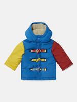 Stella McCartney Stella McCartney-AW21 603358 colour-block hooded coat