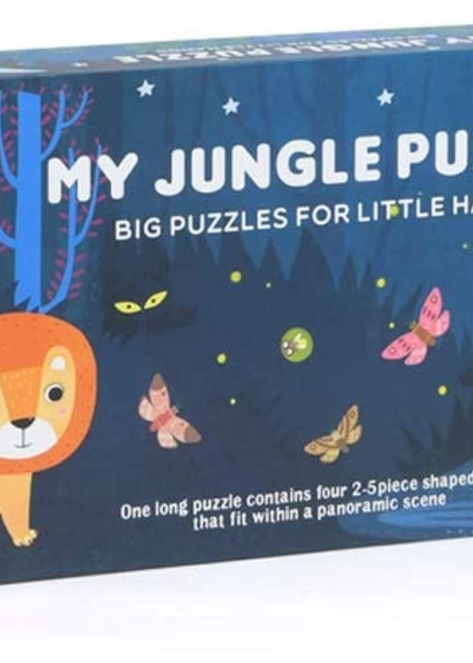Mideer Mideer-AW21 MD3033 Floor Puzzle -My Jungle 28 pcs
