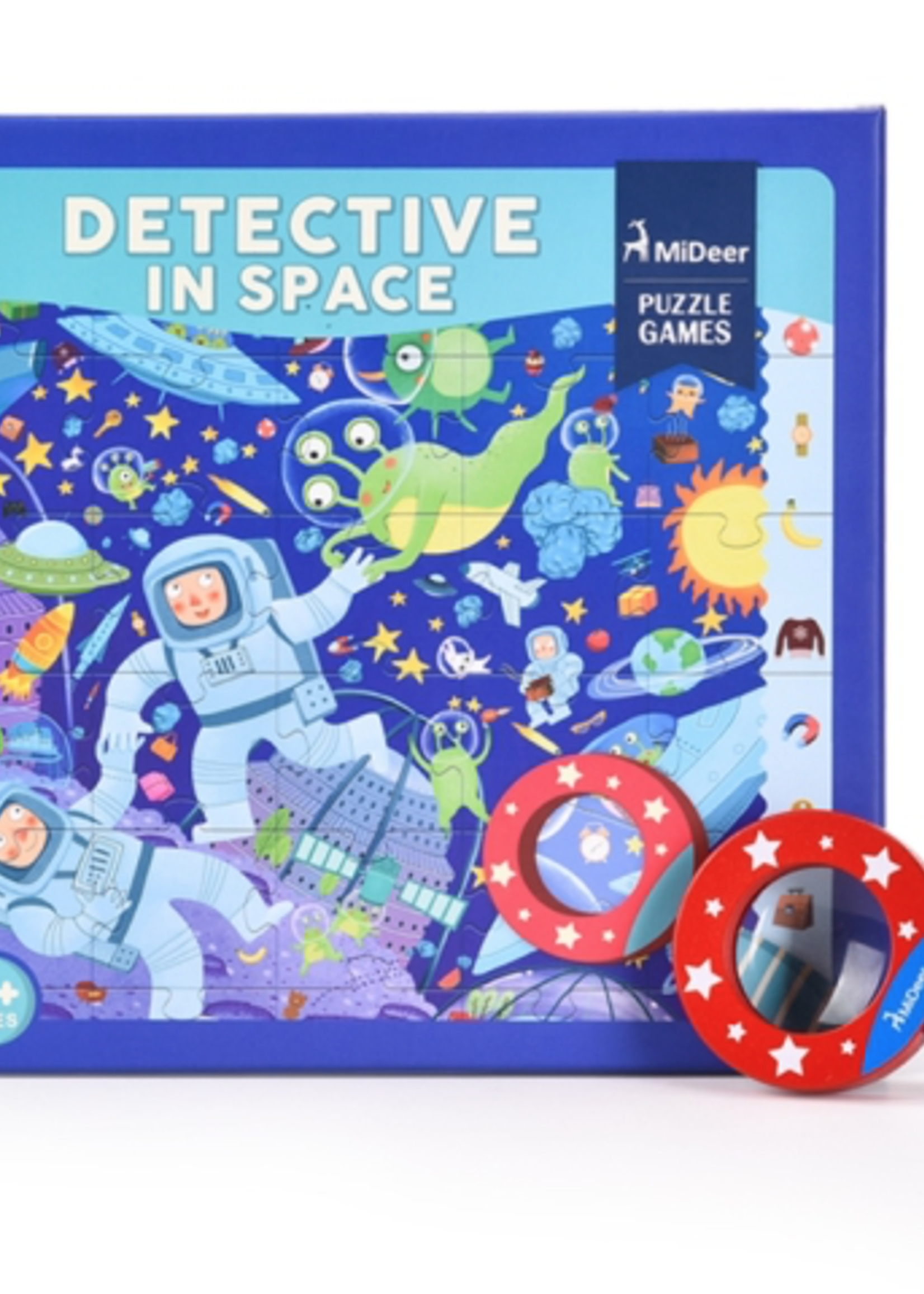 Mideer Mideer-AW21 MD3007 Detective in Space Puzzle 42 pcs