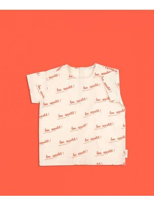 Tiny cottons Tiny Cottons Bon appetit shirt