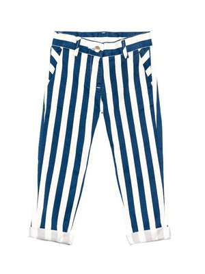 Monnalisa Monnalisa Striped Gabardine Trousers